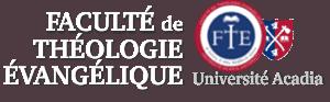 Faculté de théologie évangélique - Université Acadia